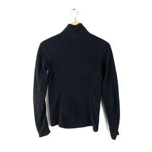 The North Face Sweaters - The north face sweater half zip fleece small black